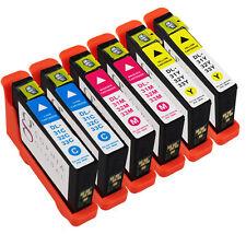 6 Pack Ink Cartridges for Dell 31 Inkjet V525w V725w