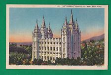"Utah - The "" Mormon "" Temple, Salt Lake City Postcard 2391"