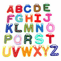 New Children Kids Teaching Learning Letters numbers Fridge Magnets Alphabets M1