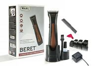Wahl Professional Beret Lithium Ion Cord Cordless Trimmer #8841 Brown Black