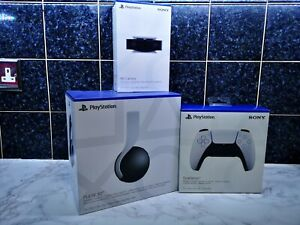 Official Playstation PS5 Pulse 3D Headset + Camera + DualSense Controller