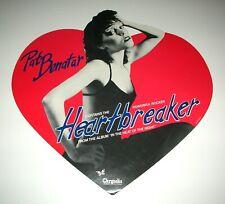 PAT BENATAR Heartbreaker Promo Display Flat Poster Mint- 1979 ORIGINAL!