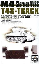 AFV Club 1/35 AF35038 WORKABLE T-48 Track for WWII US M4 Sherman VVSS, M3 Lee