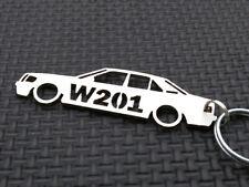 MERCEDES W201 Schlüsselanhänger 190 SL E W201 DIESEL EVO 1:18 D SPORTLINE emblem