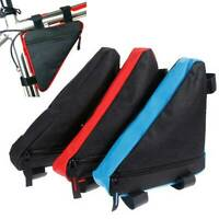 Cycling Road Mountain Bike Bicycle Front Tube Storage Small Bag Pack Pouch