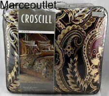 Croscill Home Julius 4 Piece Queen Comforter Set Red / Brown