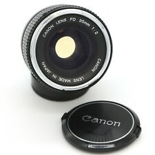 Canon FD 35mm f/2.0 Concave Chrome Nose f2 1:2 !! RARE !!!