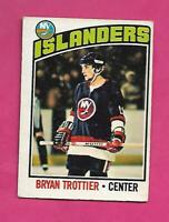 1976-77 OPC # 115 ISLANDERS BRYAN TROTTIER  ROOKIE GOOD  CARD (INV# C3014)