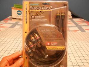 Monster Video 2 Audio . S Video Kit. NIP