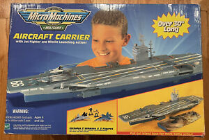 Micro Machines Aircraft Carrier Military Playset