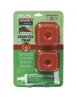 Maggie's Farm Indoor Fly Trap For Fruit Flies Pack Of 2 New