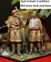 1/35 Resin British Army 2 Soldiers Unassembled Unpainted BL721