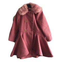 monsoon girls coat 5-6