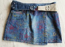Jupe portefeuille en jean REPLAY & SON taille 36-38
