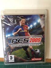PLAYSTATION 3 PS3 JUEGO PAL ESPAÑOL - PRO EVOLUTION SOCCER PES 2009 VER FOTO
