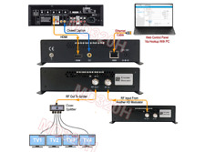 Professional HD Modulator With ATSC DVB DMBT ISDB-T TV Channel Output