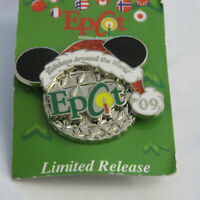 Disney Epcot 2009 Holidays Around the World Ears Ball Pin