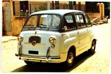 Cartolina Fotografica FIAT 600 D Multipla - Non Viaggiata