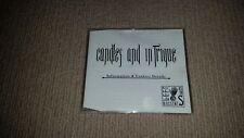 Candles & Intrigue Australian Industrial Goth Rock PROMO Compilation CD LAIS006