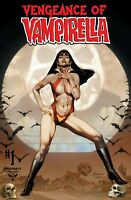 VENGEANCE OF VAMPIRELLA #1 JAY ANACLETO EXCLUSIVE COMIC ODYSSEY COVER 2019