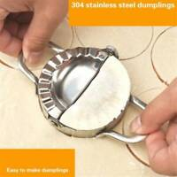 Stainless Steel Dumpling Maker Dough Cutter Ravioli Empanada Press Mold Wrapper.
