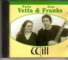 (DG960) Patty Vetta & Alan Franks, Will - 1995 CD