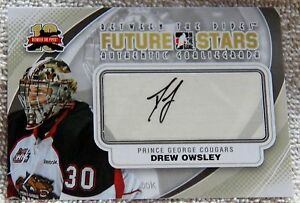 11/12  ITG BTP Drew Owsley Signed Future Stars Card Auto