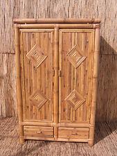 Bambusschrank Kleiderschrank Bambus Schrank Bambusmöbel Bambusbett Togo 2 120 cm