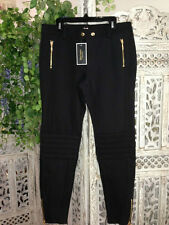Juicy Couture Motorcycle Pants Size 6 Black Brand New