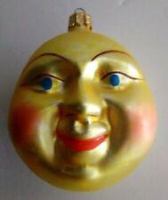 Christopher Radko Cheerful Sun ~ Smiling Sun Glass Christmas Tree Ornament Gc