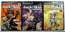 .hack G.U. Vol. 1, 2, 3 (PS2) Complete - Clean,Tested & Fast Shipping