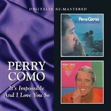 Perry Como - It's Impossible / and I Love You So [New CD] Rmst