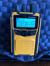 New listing Unication G1 147-167 Mhz Vhf Fire Ems Bluetooth Voice Pager plus extra's.