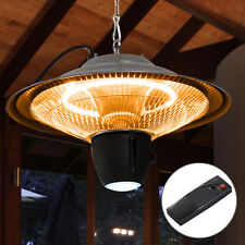 Outsunny 1500w Patio Heater Outdoor Ceiling Mounted Aluminium Halogen Electric H