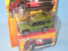 Matchbox Land Rover Discovery Green Toy Model Car Disco 70mm in SF BP