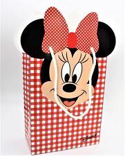 N 10  Shoppers Busta Minnie Disney Rosso