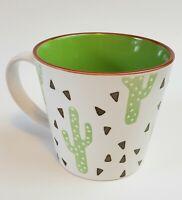 Cactus Cacti Coffee Tea Cup Mug Handle Succulent house plant desert boho kitchen