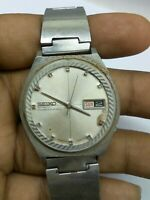 VINTAGE SEIKO 6619-7040  AUTOMATIC WATCH (  BALANCE IS OK ) FOR PARTS & REPAIRS