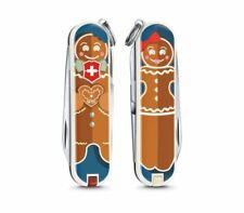 Victorinox Classic Limited Edition 2019 Gingerbread Handle 7 Tools 0.6223.L1909