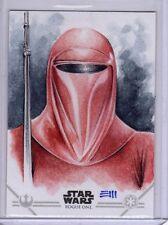 Star Wars Rogue One Series 2 Erik Maell Sketch Card
