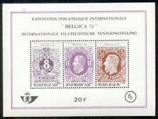 Belgium #B863 Mint Never Hinged, souvenir sheet Scott $3.50