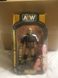 AEW Unrivaled Series 5 Frankie Kazarian Figure #39 NEW HTF w/Tag Team Title Belt