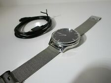 Garmin vívomove Luxe 42mm Case with Milanese Band GPS Running Watch - vivomove