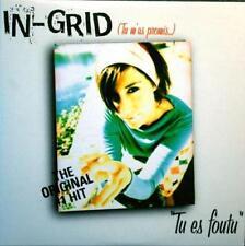 IN-GRID Tu Es Foutu 2tr MEDLEY 7243 5 51553 2 0 Denmark 2002 Cardboard CD Single