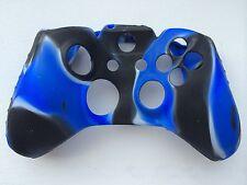 negro / Azul / Blanco Silicona Suave Piel Cubierta portectora para Xbox One