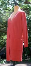 QVC Dialogue Open Long Sleeve Long Sweater With Pockets New With Tags!