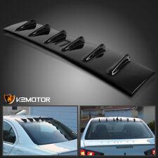 Fit 08-16 Mitsubishi Lancer EVO Glossy Black ABS Roof Vortex Generator Spoiler