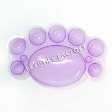 Accessoires et outils de nail art violet en plastique