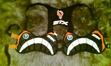 Stx Lacrosse Chest Protector Pads Kids Orange Black Small Sports Equipment/Used