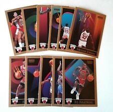 1990 SKYBOX CHICAGO BULLS TEAM SET 13 CARDS / with MICHAEL JORDAN / MINT
